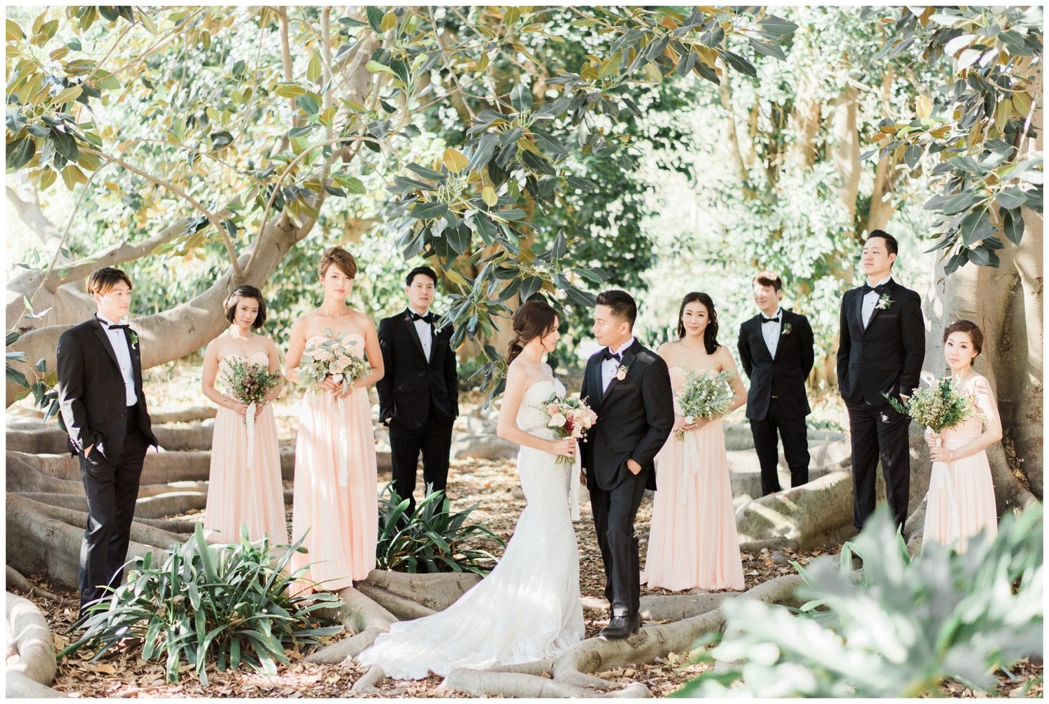 south coast botanic garden wedding