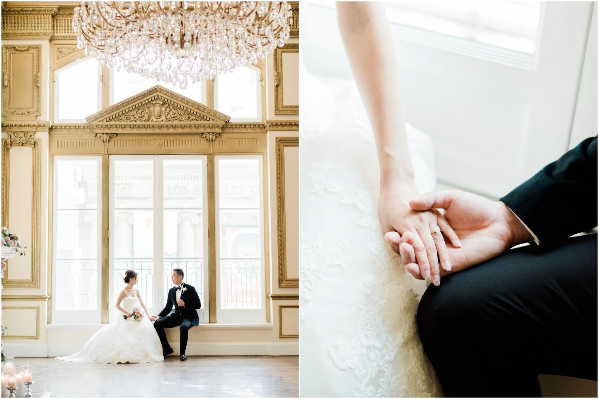 alexandria ballroom los angeles wedding photographer
