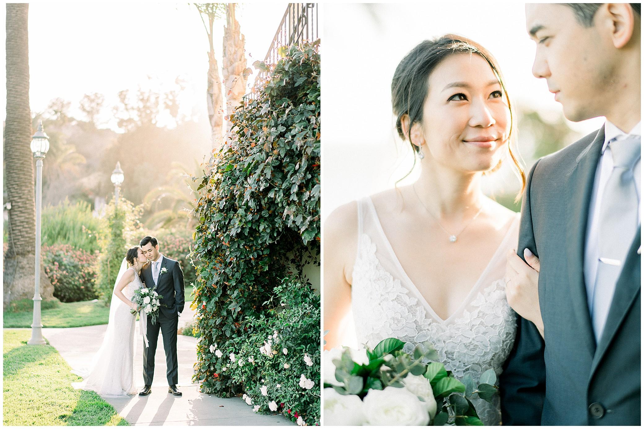 bel air bay club wedding photographer