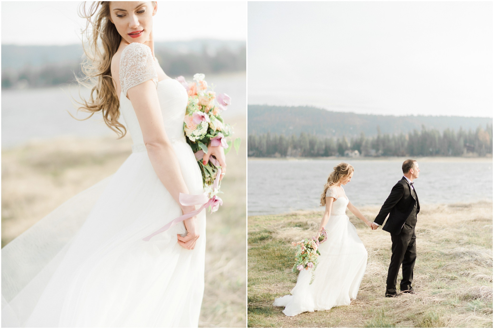 big bear pre-wedding photographer