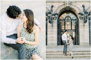 boston engagement session photographer