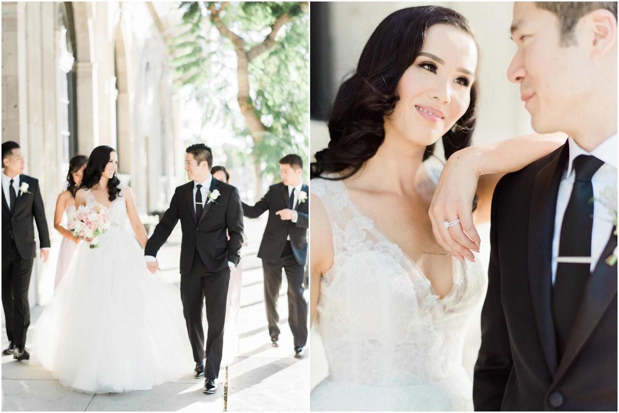 culver city hotel wedding photographer