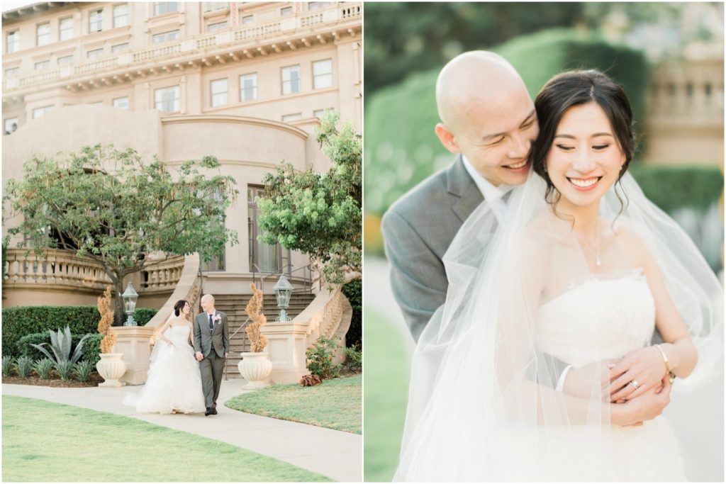 pasadena langham huntington wedding