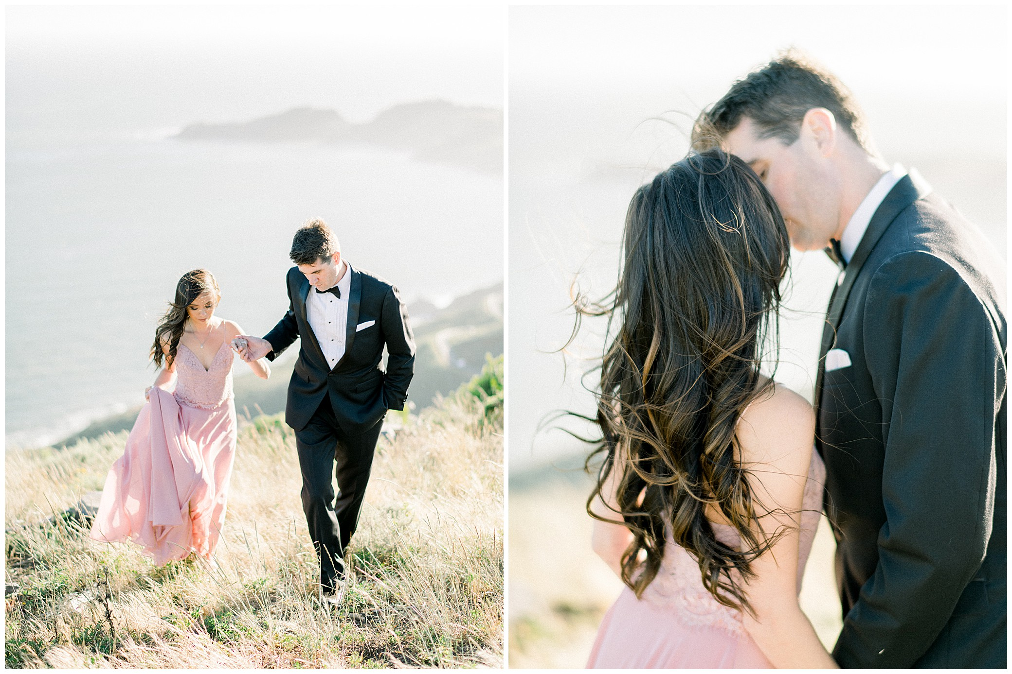 marin county engagement photos