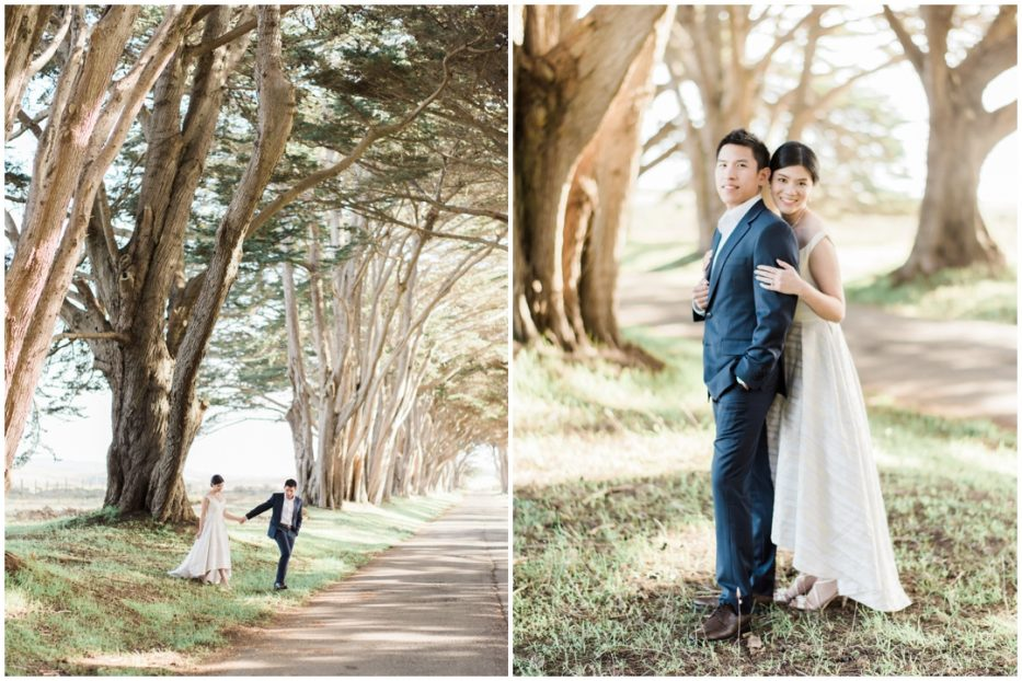 point reyes pre-wedding photographer
