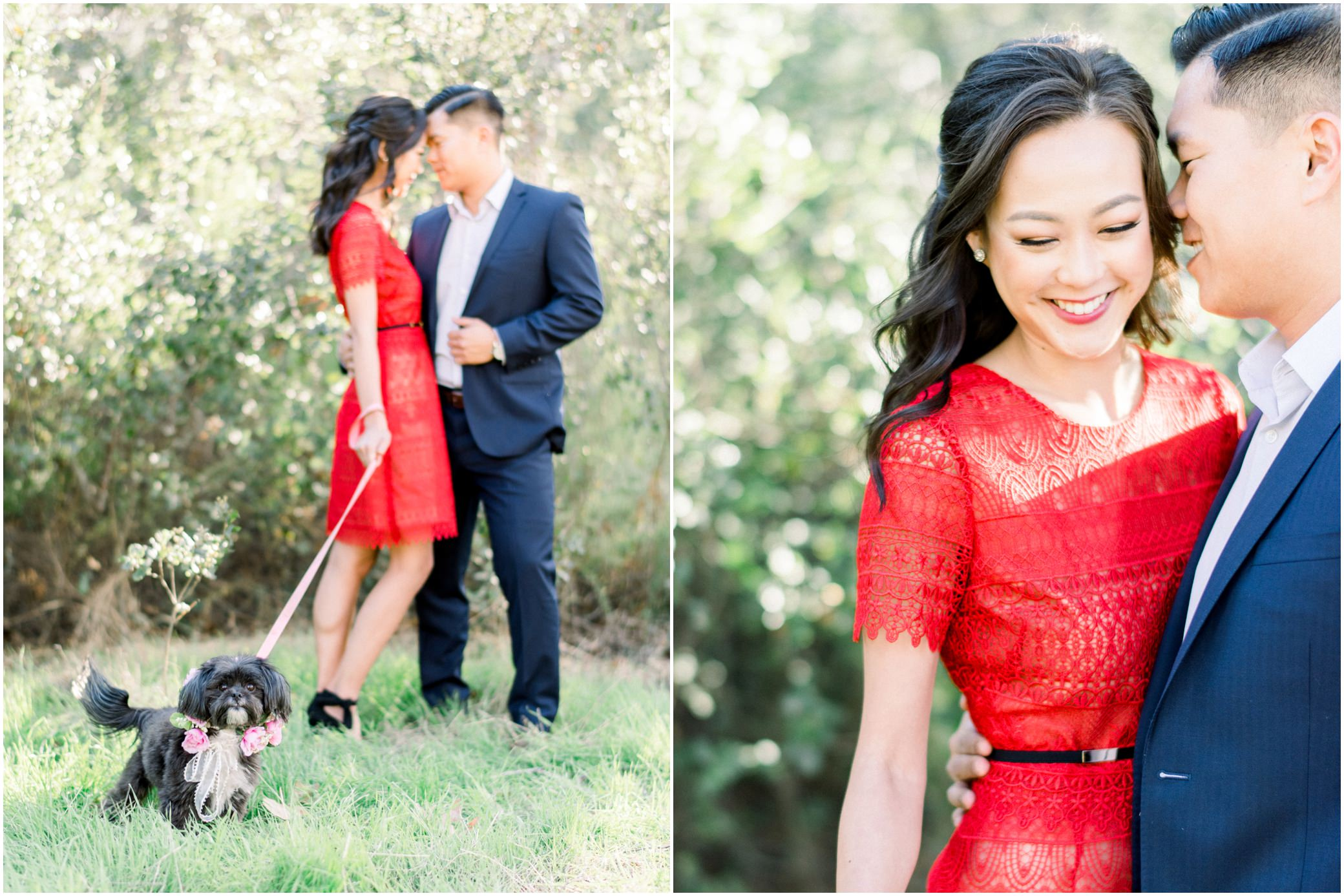 solstice canyon malibu engagement session el matador engagement