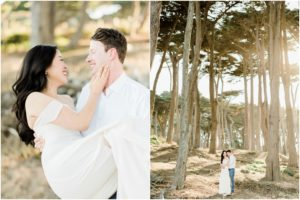 lands end bay area engagement