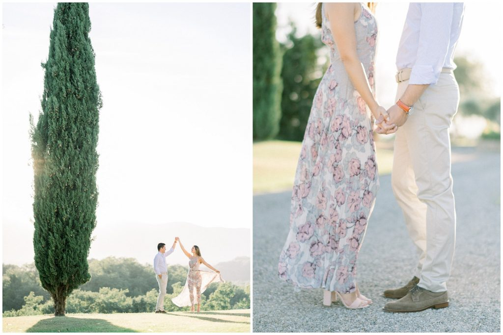 tuscany italy pre-wedding photographer