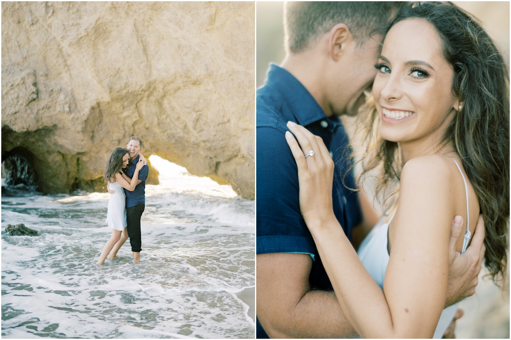 el matador malibu engagement photos