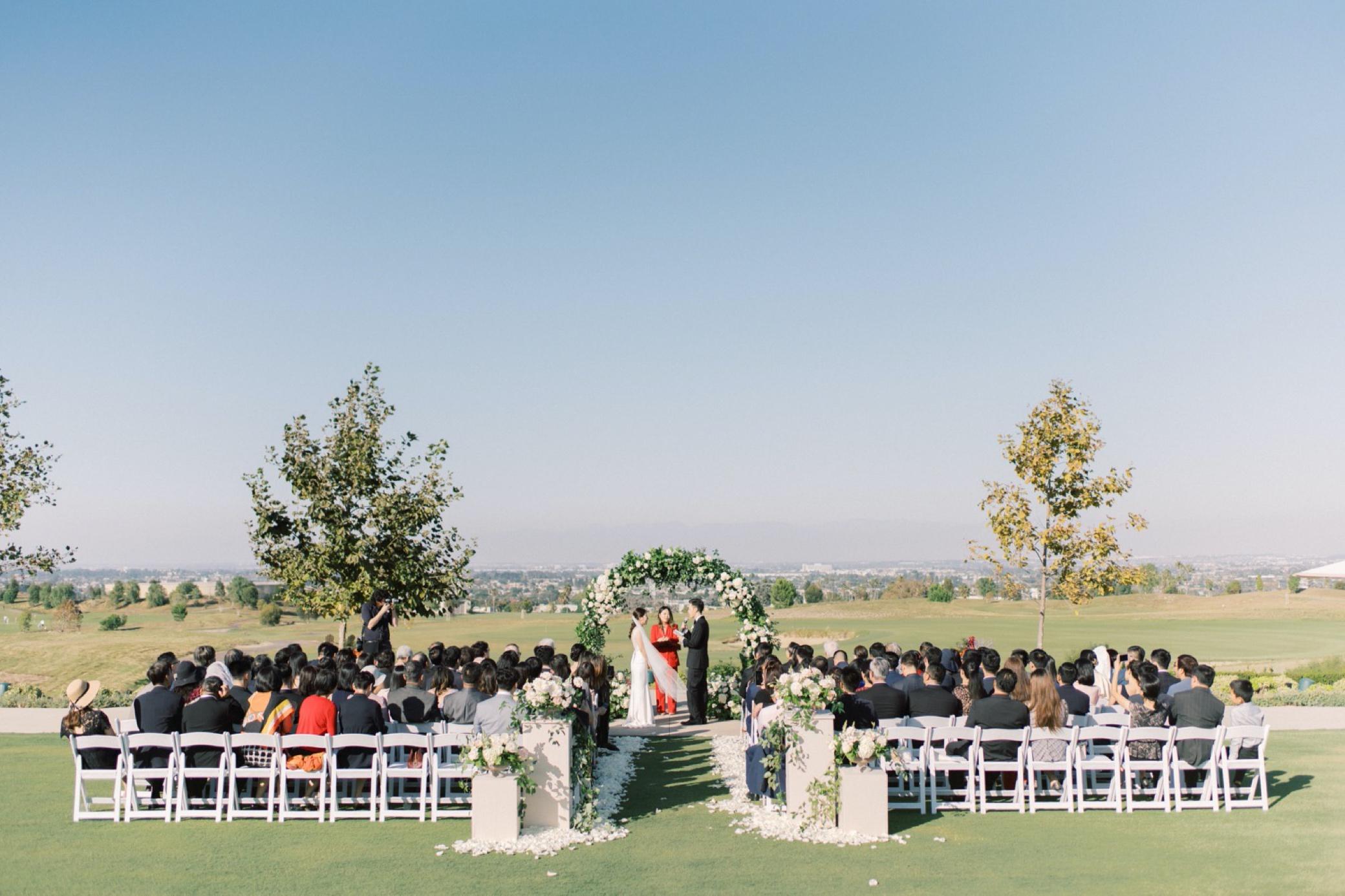 rolling hills country club palos verdes wedding