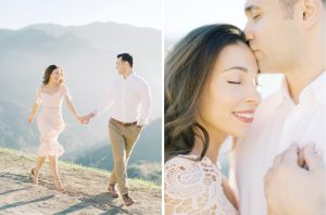 malibu creek state park and el matador engagement session
